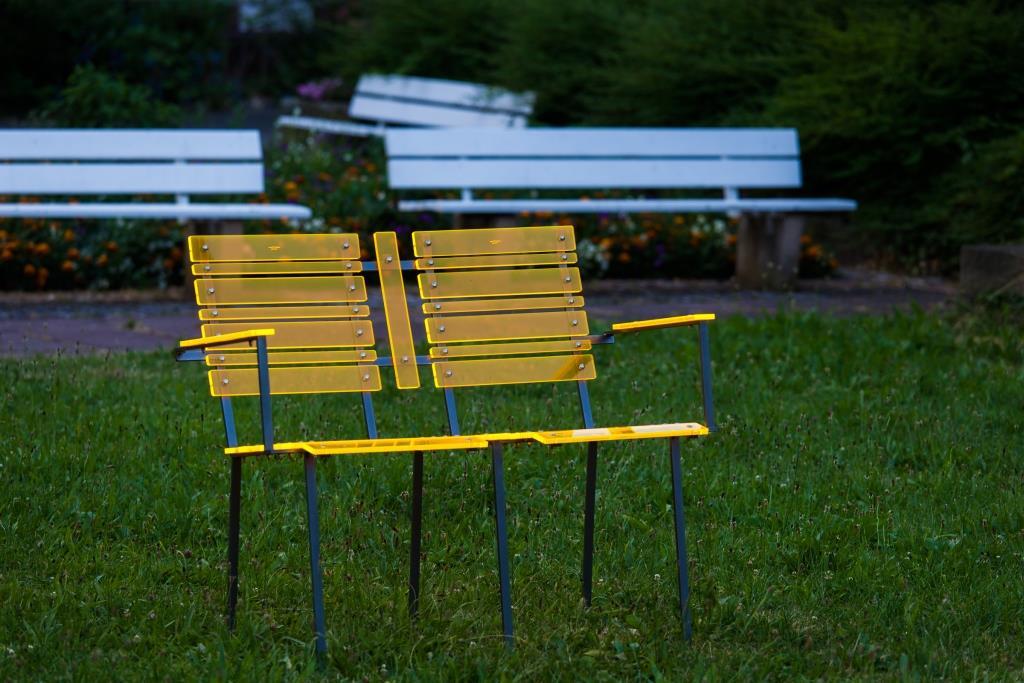 sunart dialogue for two Einfarbig: strahlend gelborange