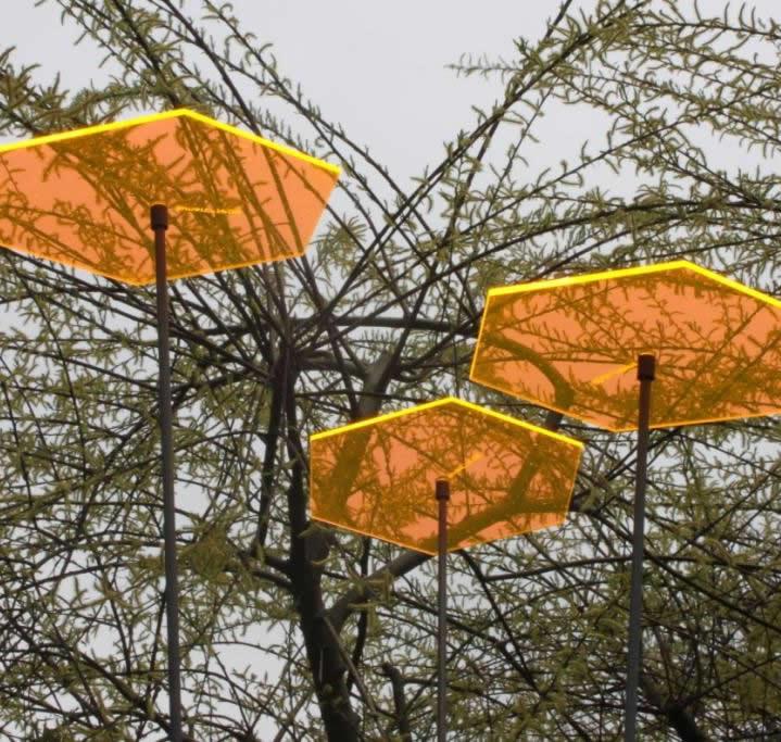 sunart No. 06L Large strahlend gelborange / 190 cm