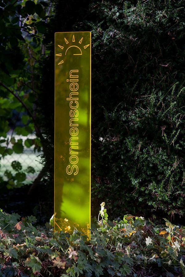 sunart DenkMal No. 10 Sonnenschein strahlend gelborange
