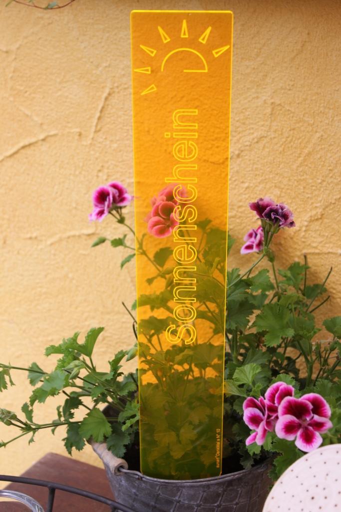 sunart DenkMal No. 10s Sonnenschein strahlend gelborange