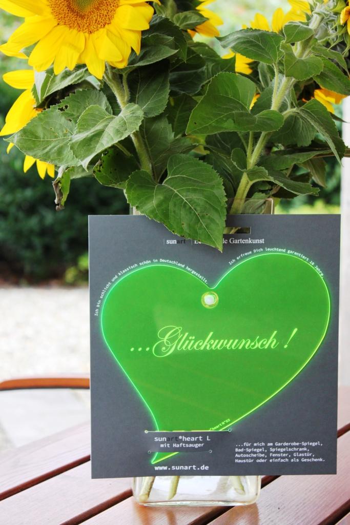sunart heart No. 03L Glückwunsch