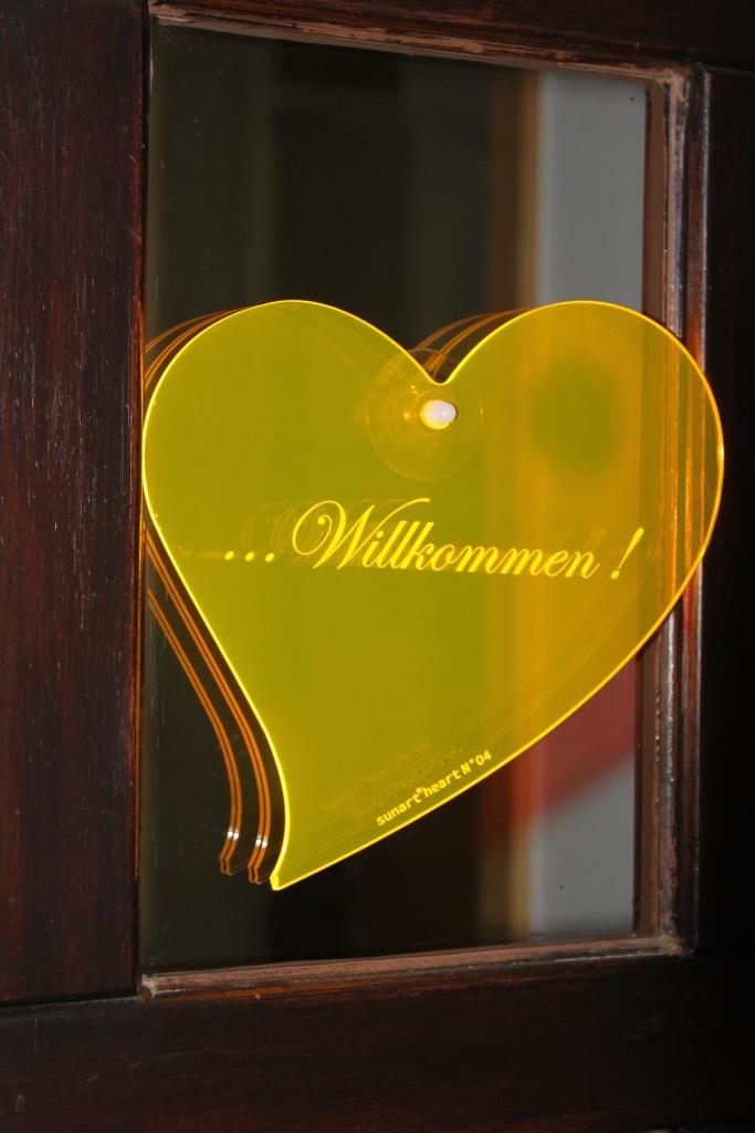 sunart heart No. 04L Willkommen