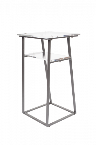 Design-Beistelltisch aus Acryl