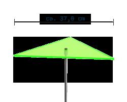sunart No. 03L Large zuversichtlich grün / 190 cm