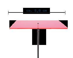 sunart No. 04s small energievoll rot / 40 cm
